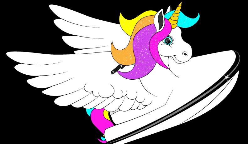 Unicorn the Magical Jet Ski